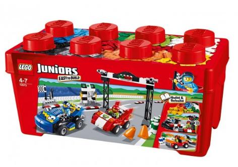 lego 乐高 赛车拉力赛组搭积木 适合四岁以上儿童