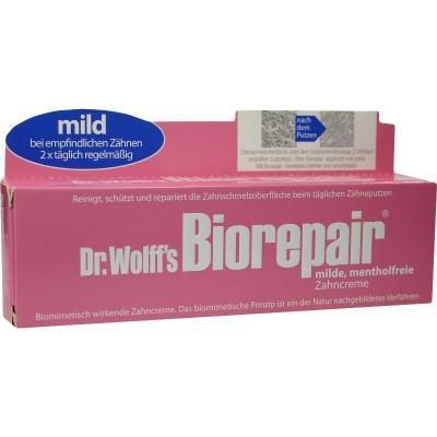 【德国UKA】 Biorepair 深层洁净防蛀修复牙膏 75ml 温和配方  特价:4 41欧(原价:5 04欧),约32 8元