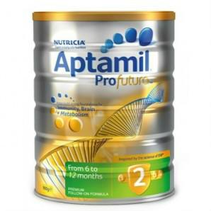 【凑单免邮】Aptamil Profutura 白金版2段婴幼儿奶粉 900g AU$29 99,¥153 22 澳洲直邮!