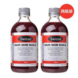 【凑单免邮】【两瓶装 历史最低价】Swisse 澳洲胶原蛋白水(美容养颜) 500mlX2 AU$35 99,约¥183 88 澳洲直邮!