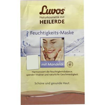 【德国UKA】 Luvos 天然药泥甜杏仁油锁水补水保湿面膜 2x7 5ml 特价:0 93欧,约6 9元