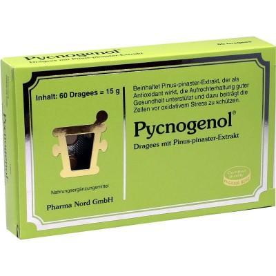 【德国UKA】Pycnogenol 碧萝芷松树皮萃取精华丸 60粒 降血压抗衰老片 特价:21 74欧(原价:24 54欧),约162元