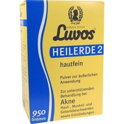 【德国UKA】 LUVOS 纯天然药泥粉 清洁 去痘 去黑头 去角质 面膜粉 950g  特价:6 58欧(原价:7 43欧),约49元