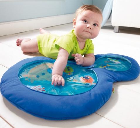 【全场满75欧包邮】 HABA 小小潜水员 装水游戏垫 适合六个月以上宝宝