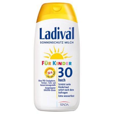 【德国UKA】 LADIVAL 儿童无香精防水防晒乳液 防晒霜200ml  特价:16 28欧,约122元