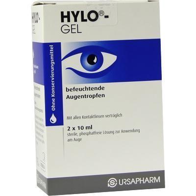 【德国UKA】Hylo-gel 润眼祛红滴眼液 2支x10ml 特价:23 90欧,约179 3元