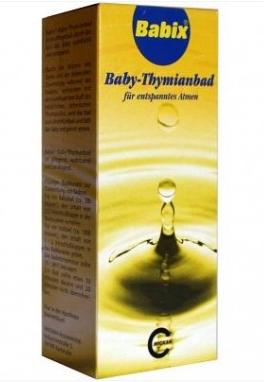【全场满56欧包邮】Babix 100%纯植物提取 宝宝洗澡精油 专治感冒鼻塞