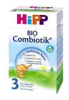 【全场满56欧包邮】 Hipp 喜宝Bio Combiotik有机益生菌配方奶粉3段 10个月+