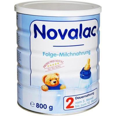 【德国UKA】 Novalac 宝怡乐 新生奶粉 2段 (5-12个月) 800g  特价:14 38欧,约106元