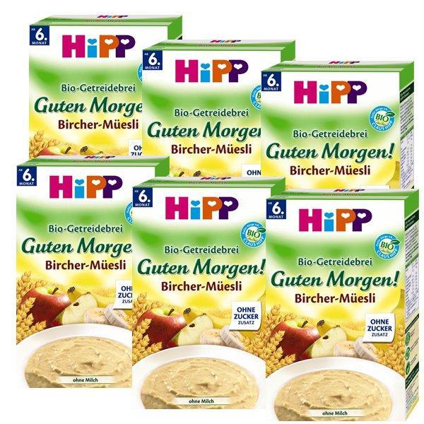 6 x Hipp 喜宝 有机苹果香蕉荞麦早餐米粉(6个月起) 250g 特价+用码再减5欧+税补15欧
