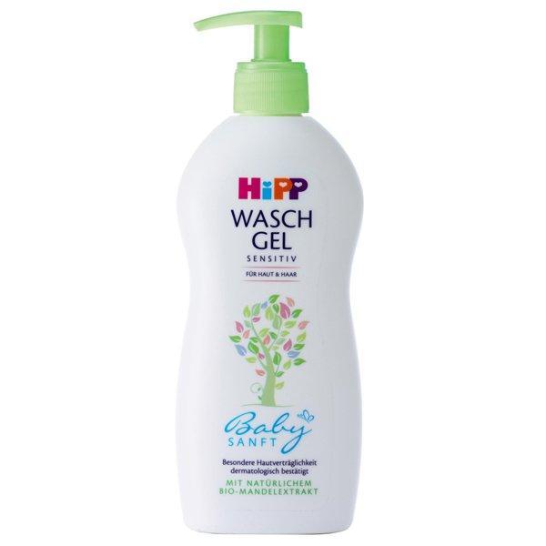 HIPP 喜宝 有机杏仁油婴儿洗发沐浴二合一 无泪配方 400ml 特价+用码再减5欧+税补15欧