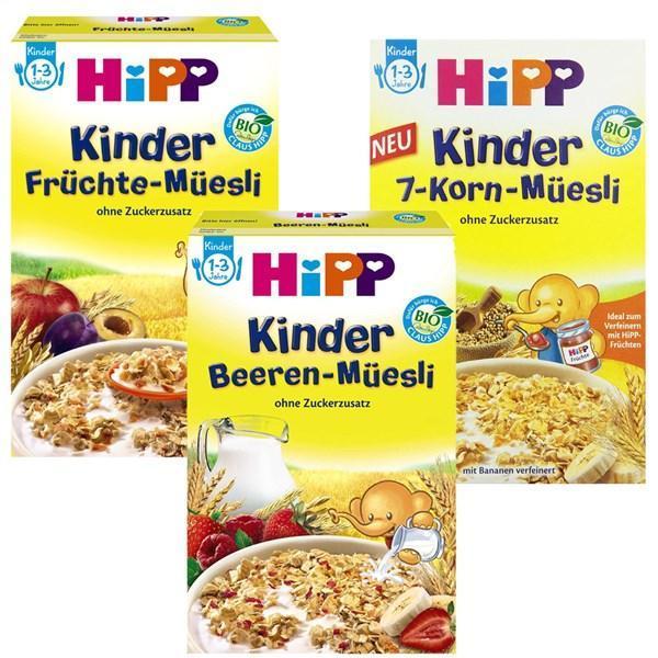 HIPP麦片礼包特惠装 (3种口味麦片) 特价+用码再减5欧+税补15欧