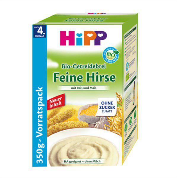 Hipp 喜宝抗过敏小米米粉(大米+玉米,不含奶粉)350g 特价+用码再减5欧+税补15欧