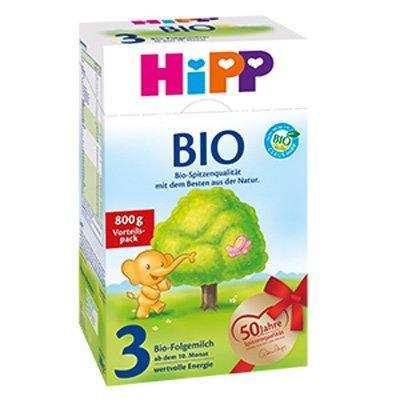 Hipp 喜宝有机奶粉3段(适合10个月以上婴儿) 800g 特价+用码再减5欧+税补15欧