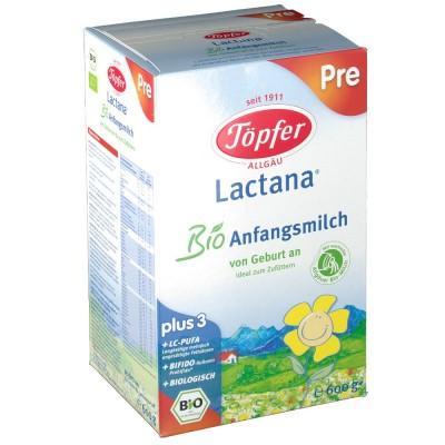 【德国UKA】 Töpfer 德国特福芬有机新生儿配方奶粉Pre段(0-6m) 600g  特价:13 81欧,约102 9元