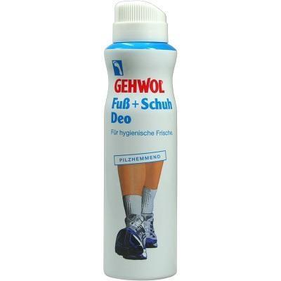 【德国UKA】 GEHWOL 洁沃 足部保健喷雾 除脚臭脚气 杀菌 防汗脚 150ml  特价:6 14欧,约45 3元