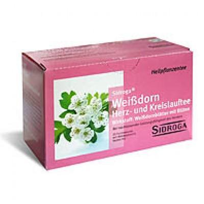 【德国UKA】 SIDROGA 山楂花心脏心血管保健茶 20包  特价:2 70欧,约19 9元
