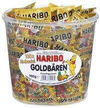Haribo 哈瑞宝 迷你小熊软糖1桶 独立小包装 德国经典糖果  特价+用码立减5欧+税补15欧
