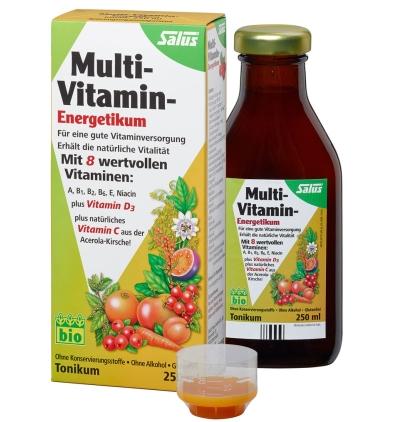 【专享满减】Salus 多种果蔬维生素营养液 250ml  3岁及以上儿童和成人均适用
