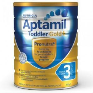 【全场满减】Aptamil 爱他美 金装3段婴幼儿奶粉 900g  AU$20 99,约¥106 93 澳洲直邮!