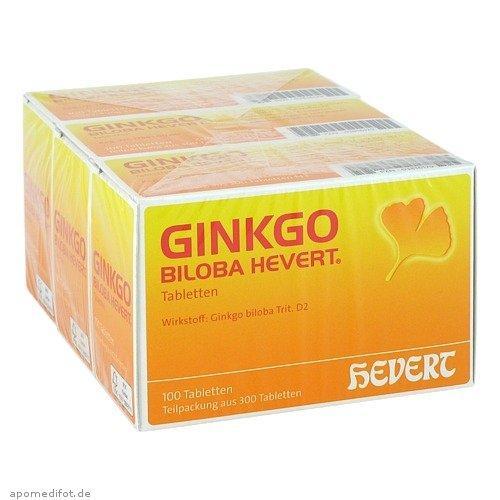 Ginkgo 金纳多 银杏提取营养片 提高记忆力改善血压 300 粒 特价+用码立减5欧+税补15欧 特价:27,99 €