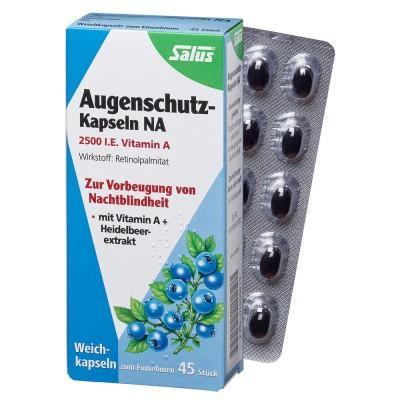 【德国UKA】Salus 莎露斯 蓝莓精华维生素A护眼软胶囊  特价:9 82欧,约73 1元