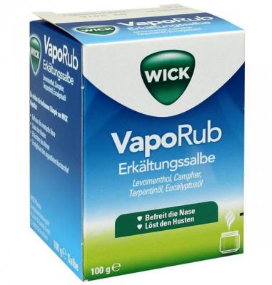 【德国UKA】 Wick 抗感冒鼻噻 安眠软膏 2+ 100g  特价:13 27欧,约98元