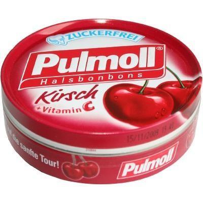 【德国UKA】 Pulmoll 无糖维C润喉止咳糖樱桃口味 50克  特价:1 72欧,约12 87元