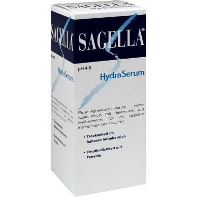 【德国UKA】Sagella HydraSerum系列女性抑菌保湿私处洗液 200 ml  特价:10 33欧,约77 3元