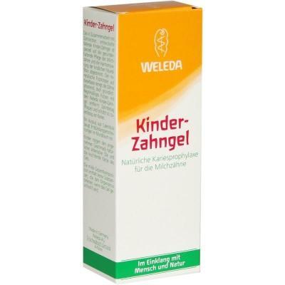 【德国UKA】Weleda 维蕾德 儿童防蛀牙啫喱牙膏 50ml  特价:3 78欧,约28 15元