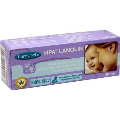 【德国UKA】Lansinoh乳头霜 羊毛脂乳头皲裂保护霜 孕妇羊脂膏40ml 特价:4 05欧(原价:4 74欧),约30