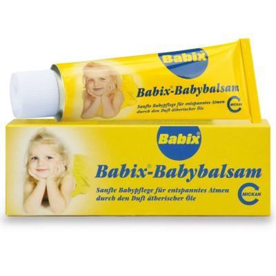 【德国UKA】BABIX 宝宝防治感冒纯植物软膏 50g  特价:5 96欧(原价:7 06欧),约44 62元