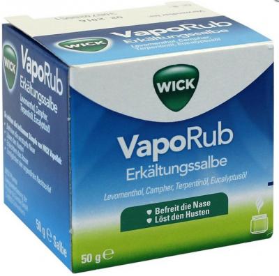 【德国UKA】Wick 抗感冒鼻噻 安眠软膏   特价:6 83欧(原价:8 09欧),约60 55元