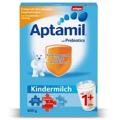 【德国UKA】 Aptamil 爱他美儿童奶粉1岁+,600g  特价:15 37欧,约114元