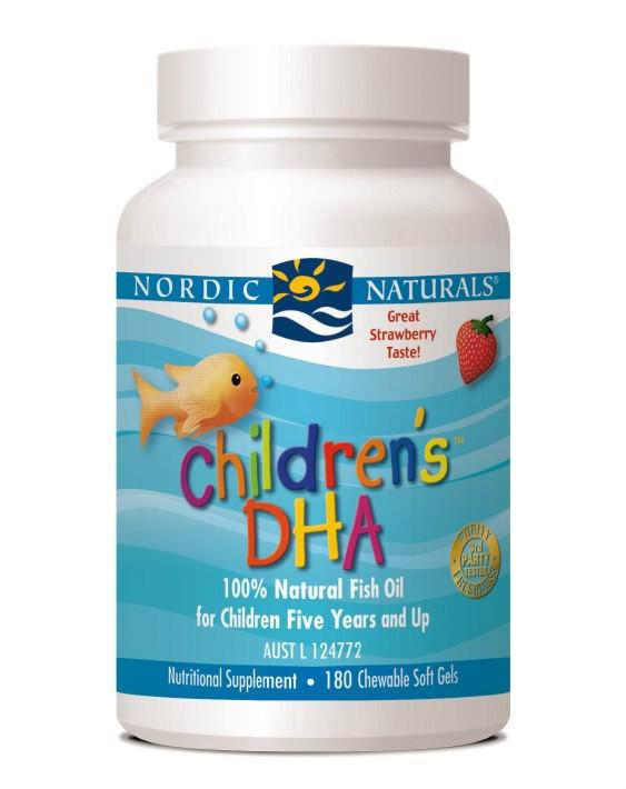 【限时特价】Nordic Naturals 挪威小鱼 DHA婴幼儿鳕鱼油软胶囊 180粒【全场满79澳免邮】