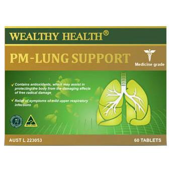 【限时特价】Wealthy Health 富康 排毒清肺粒 60粒【全场满60减6 满86减12】