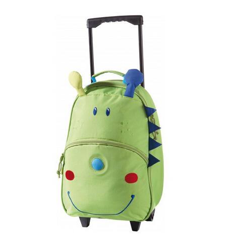 【全场满78欧减8欧】HABA 可爱恐龙手推带轮旅行包