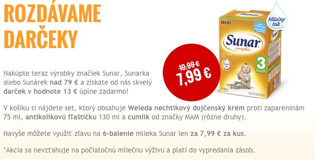[捷克]SUNAR/美素奶粉优惠价 送礼品