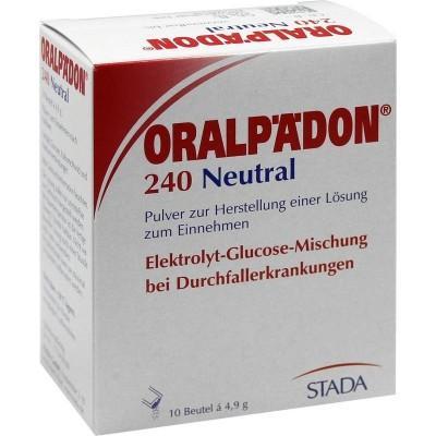 【德国UKA】 ORALPAEDON 婴幼儿电解质水冲剂 (发烧腹泻) 10包  特价:3 31欧,约24 5元