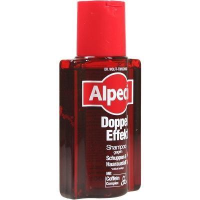 【德国UKA】Alpecin 阿佩辛 双效咖啡因防脱发去屑洗发水 200ml  特价:6 21欧(原价:7 57欧),约45 9元