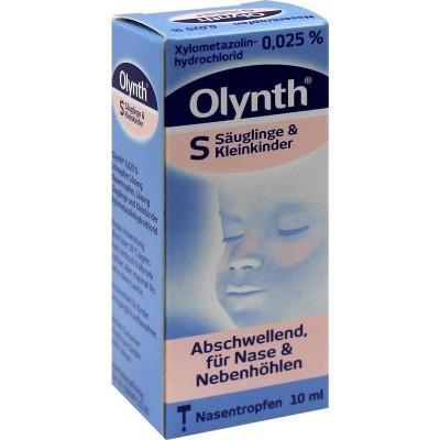 【德国UKA】 Olynth Salin 0 025%通鼻滴鼻液 婴儿感冒鼻塞 10 ml  特价:1 36欧,约10 1元