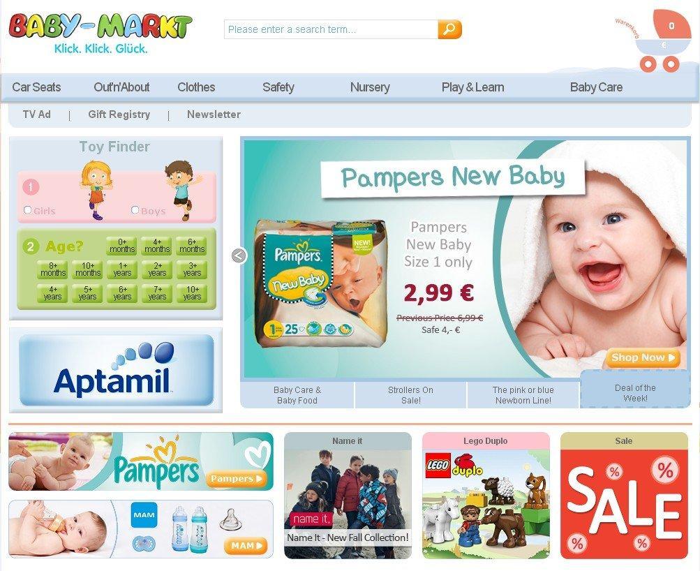 Baby-markt网站购物教程(微转运分享)