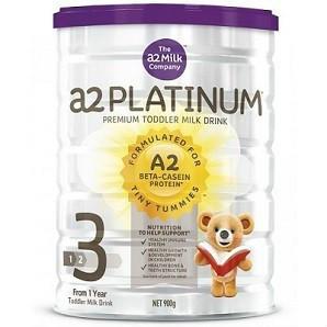 【全场免邮】A2 婴幼儿奶粉Platinum白金三段 900g  澳洲直邮!