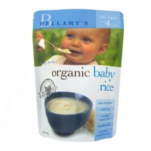 【免邮+满减】Bellamy& 039s 贝拉米 婴幼儿有机米粉(4个月以上)125g