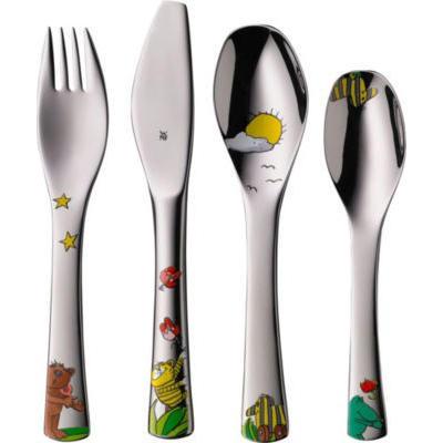 【黑五额外折扣,凑单品】WMF 儿童餐具 &quotJanosch&quot系列 4件套(多重优惠+全额税补)