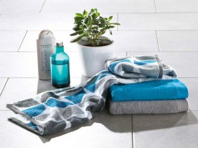 【德国EM】 有机全棉 毛线圈毛巾套装 3件  €14 95(约¥110)