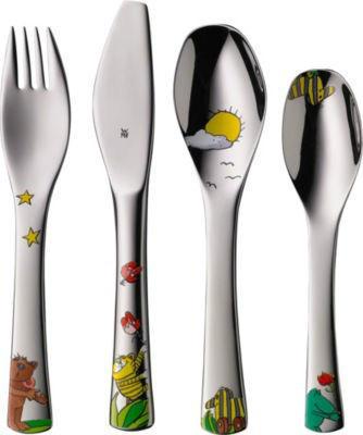 【德国EM】WMF儿童餐具 &quotJanosch&quot系列 4件套(多重优惠+全额税补)€28 45(约¥205)