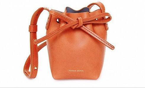 纽约品牌Mansur Gavriel推出儿童版水桶包