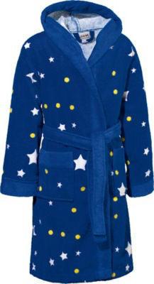 【德国EM】Kinderbutt 小星星毛巾带帽浴袍 (欧洲三线结圈工艺 有机纯棉)€19 95(约¥148)