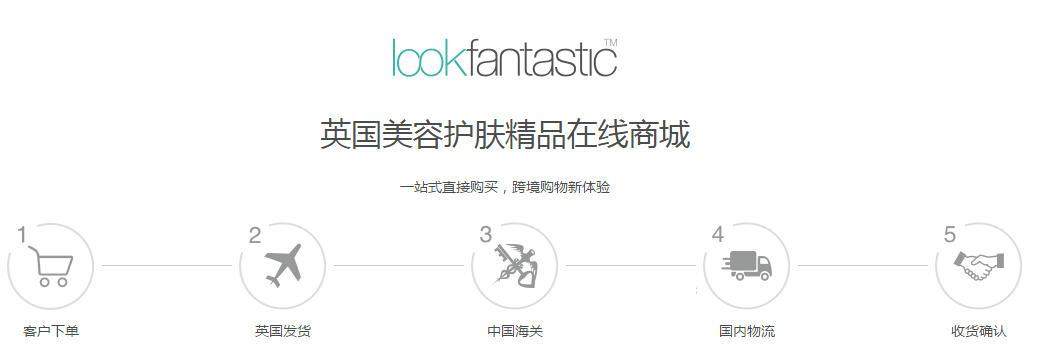 2017最新LookFantastic直邮攻略